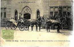 LUXEMBOURG « Château De Berg – Sortie De Leurs Altesses Royales Le Grand-Duc Et La Grande-Duchesse » - Ed. Ch. ---> - Famiglia Reale