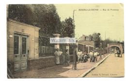 Bourg-la-Reine (92) - Rue De Fontenay - Old France Postcard - Bourg La Reine