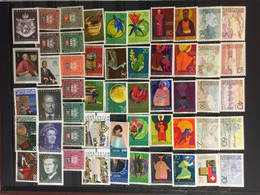 LIECHTENSTEIN   : SELECTION OF Stamps    On 1 PAGE  MNH  ( LOT 4 ) - Lotes/Colecciones
