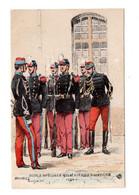 "13134 "" ECOLE SPECIALE MILITAIRE DE SAINT-CYR-1884 "" CART. ILLUSTRATA NON SPEDITA - Uniforms"