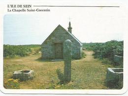 CPSM  Ile De Sein Chapelle St Corentin - Ile De Sein