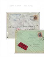 2 Lettres -censure De Gand Et De Givet 1916 - Andere Brieven