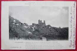 VILLEFORT  -  Château Du Tournel  -  Cure D'air  -  Gorges Du Tarn  -  Lozère  -  48 - Villefort