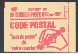 EC-696: FRANCE: Lot Avec Carnet Fermé Et** N°1892C3a - Standaardgebruik