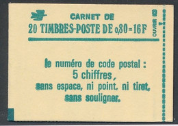 EC-700: FRANCE: Lot Avec Carnet Fermé Et** N°1970 C1 - Standaardgebruik