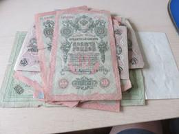 1 Lot De BILLETS ,,peut-etre Russie,mais Rien De Sur,,scanné Recto Et Verso +++ De 50 Billets - Vrac - Billets