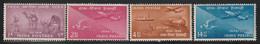 INDE - N°48/51 ** (1954) Centenaire Du Timbre - Unused Stamps