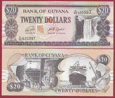 Guyana 20 Dollars   2018 ---UNC --(385) - Guyana
