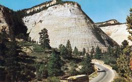 1 AK USA Utah * Zion-Nationalpark - Checkerboard Mesa (Schachbrett-Tafelberg) Ist Ein über 2000 M Hoher Tafelberg * - Zion