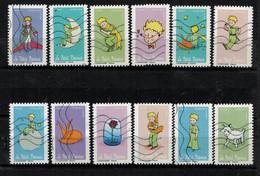 NEW 2021 Les 12 Timbres Du Carnet - SAINT EXUPERY Oblitérés - Used Stamps