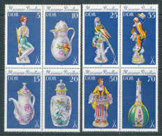 2127 à 2134** Porcelaines De Meissen - Unused Stamps