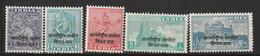 INDE - Franchise  N°23/7 ** (1954) Troupes De Police Indienne Au Vietnam , Surchargés. - Military Service Stamp