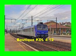ACACF 505 - Automotrice Z 7510 En Gare - AMBERIEU EN BUGEY - Ain - SNCF - Treni