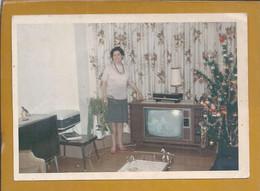 Real Color Photo Of 1950/60 Zenith Television, Stereo Radio And Grunding Recorder. Echte Kleurenfoto Van 1950/60 Zenith - Cinéma & Theatre