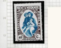 MOZAMBIQUE STAMP - TAX DUE 1929-39 Assistência Pública - MH (LMZ#130) - Mozambique