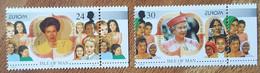 Man - YT N°712, 713 - Europa / Femmes Célèbres - 1996 - Neuf - Isola Di Man
