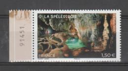 FRANCE / 2021 / Y&T N° 5516 ? ** : Spéléologie X 1 BdF G Avec N° De Feuille - Nuevos