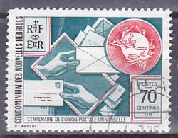 New Hebrides - 1974 - Centenary Of The Universal Postal Union - Y&T - MI - SC - SG - Oblitéré - Used - Gebruikt
