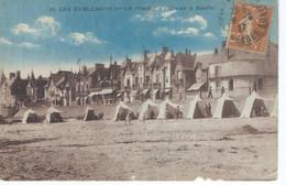 CPA - 85 - LES SABLES D'OLONNE - Villas Sur Le Remblai - Cabines -  1927 - BE - - Sables D'Olonne