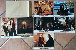 7 PHOTOS FILM CINEMA DESPERATE HOURS LA MAISON DES OTAGES CIMINO ROURKE HOPKINS 1990 TBE - Fotos
