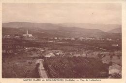 07 ARDECHE Notre Dame De Bon-Secours Vue De LABLACHERE - Autres Communes