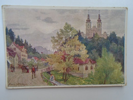 D182569        AK   Österreich -  Maria-Trost Bei Graz  - Illustr. Hans Götzinger  Ca 1910's - Graz