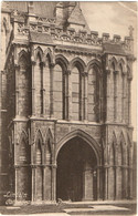 Lincoln Cathedral, Galilee Porch 1908 (F.Frith No.12446) - Lincoln