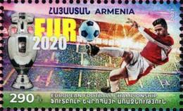 Armenia - 2021 - European Football Championship - Euro 2020 - Mint Stamp - Armenia