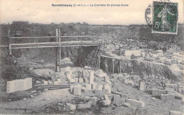 METIERS Mine Carrières - 37 - SEMBLANCAY Les Carrières De Pierres Dures - CPA Village ( 2.145 H ) Indre Et Loire - Miniere