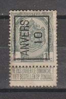 Préo Typo Anvers 1910 - Typografisch 1936-51 (Klein Staatswapen)