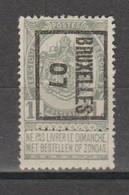 Préo Typo Bruxelles 1907 - Typografisch 1936-51 (Klein Staatswapen)