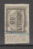 Préo Typo Bruxelles 1908 - Typografisch 1936-51 (Klein Staatswapen)