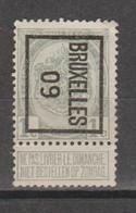 Préo Typo Bruxelles 1909 - Typografisch 1936-51 (Klein Staatswapen)