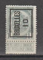 Préo Typo Bruxelles 1910 - Typografisch 1936-51 (Klein Staatswapen)