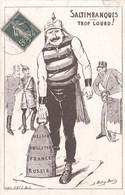 CARTE PROPAGANDE FRANÇAISE - GUERRE 14-18 - ENFANT SOLDAT (N°5) - Guerra 1914-18
