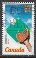 Canada 1988. Scott #1221 (U) 1st Baseball Game Played In Canada, June 4, 1838 *Complete Issue* - Used Stamps