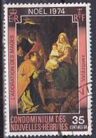 New Hebrides - 1974 - Christmas - The Adoration Of The Magi -Y&T405 - MI 400 - SC - SG - SA - Oblitéré - Used - Gebruikt