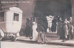 Guerre 14-18, Genève, Passage Des Evacués Français, Bus (1915) - War 1914-18