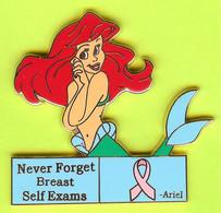 Gros Pin's BD Ariel La Petite Sirène 'Never Forget Breast Self Exams'  - #722 - Comics