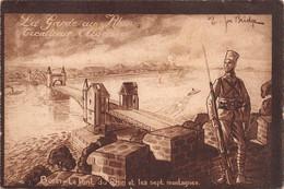La Garde Au Rhin Tirailleurs Algériens Bonn Le Pont Du Rhin Et Les Sept Montagnes. Illustrateur Joë BRIDGE ( ͡◕͜ʖ ͡◕) ♦ - Barracks