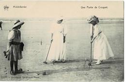 Middelkerke Une Partie De Croquet - Middelkerke