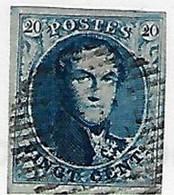 Medaillon (4 Randen) N°7 - 1851-1857 Medaglioni (6/8)