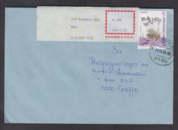 REPUBLIC OF MACEDONIA, COVER, MICHEL 171 - FLORA Astragalus Mayeri Micevski + - Macedonia