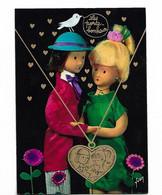 Les Porte Bonheur Par Peynet  La Médaille Des Amoureux - Peynet