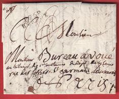 MARQUE P26P EVREUX EURE 1808 POUR PARIS INDICE 10 - 1801-1848: Précurseurs XIX