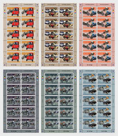 Iom 2021 Man Transport Museums Road Cars Bus Truck Motorbike Delage 6x10v FULL SH Vauxhall Triumph Leyland Ariel Greeves - Isola Di Man