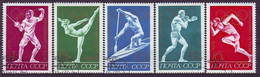USSR 4020-4024,used,olimpic Sport - Verano 1972: Munich