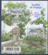 F 4580 Bloc Jardin De France Cheverny Faciale 4,80 € - Nuevos