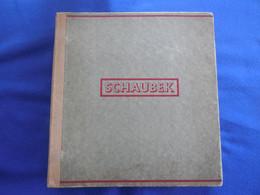 Uralter Schraubbinder Von Schaubek, Bestückt Mit Klassik Aus Vielen Ländern, über 80 Fotos, Fundgrube Für Spezialisten - Sammlungen (im Alben)