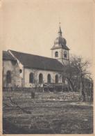 CLEFCY (Vosges): L'église A été Touchée Par Un Obus - Tous Les Vitraux Sont Brisés - Sonstige Gemeinden